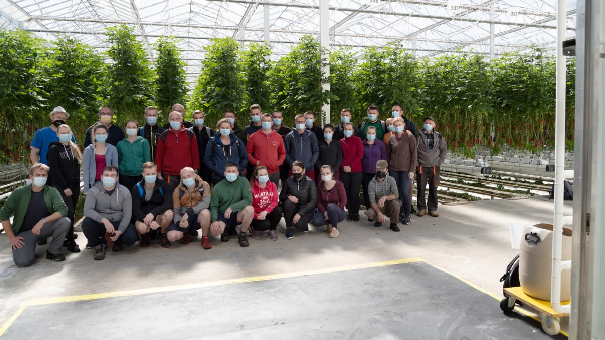 Das Team von Meier Gemüse